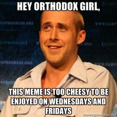 cheezy ryan gosling orthodox